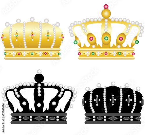 Four crowns