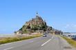 View of Mont Saint Michel, France