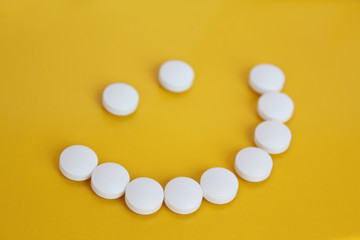 Smile from tablets