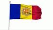 Fahne Andorra NTSC