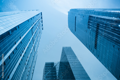 office building in modern city