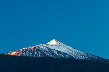Volcano Teide at sunrise