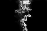 kouř na černém pozadí