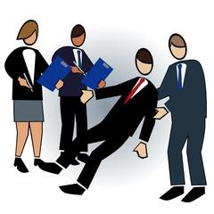 Business symbol-assessing team building activity