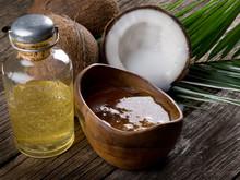 naturel de noix de coco huile de noix
