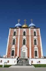 Uspensky cathedral in Ryazan Russia