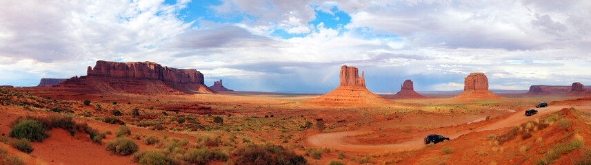 USA Panorama Monument Valley Arizona Utah Landscape