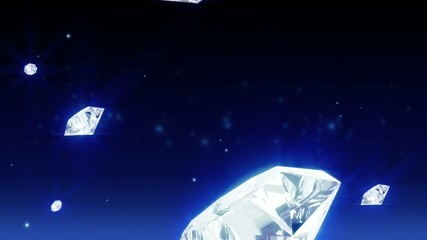 abstract blue background with diamonds