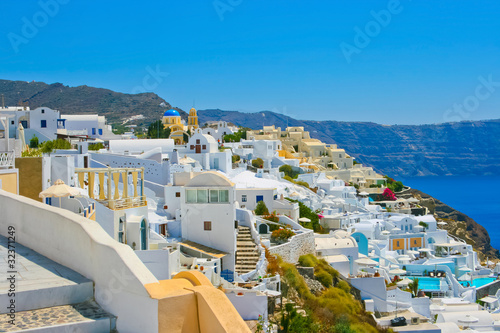 Fantastic view of Oia in Santorini
