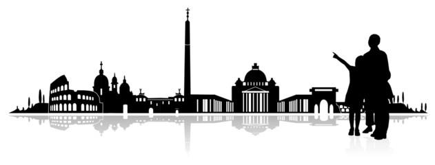 Rom Architektur Abbildung