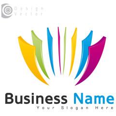 logo business abstrait