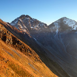 Ostry Rohac peak at sunset - High Tatras
