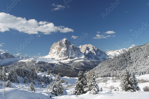 Landschaft in den Dolomiten