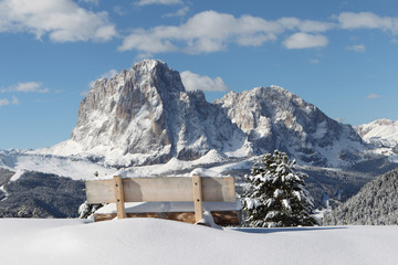 Langkofel Berg der Dolomiten