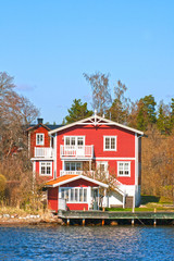 Schwedenhaus am Meer / Swedish house