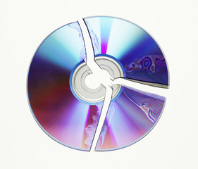 zerbrochende Dvd