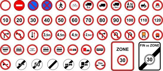 Interdiction signs