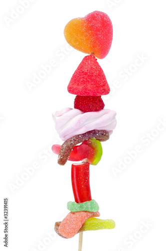 candies skewer