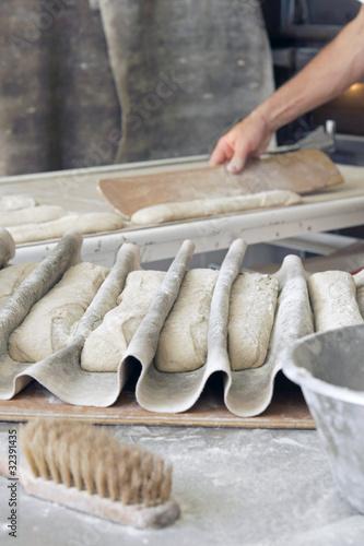 Papiers peints Boulangerie pain de campagne avant cuisson # 26