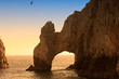 The Arch and Land's End at Sunset, Cabo San Lucas, Mexico
