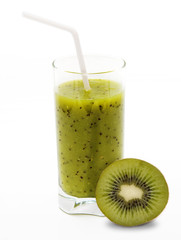 Healthy kiwi smoothie