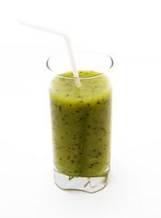 Healthy kiwi smoothie