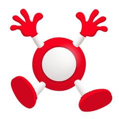 Bingo, boule rouge gagnante