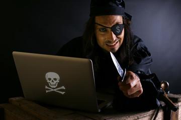 Onlinebetrug Pirat