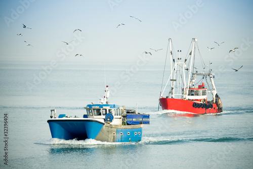 Fototapete Fischerei - Angeln - Fischer - Poster - Aufkleber