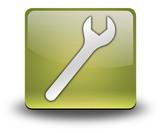 "Yellow 3D Effect Icon ""Mechanic"""