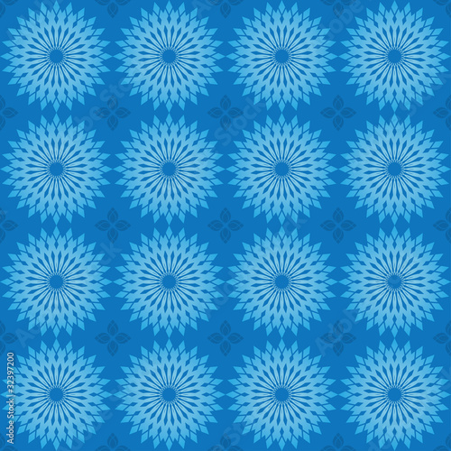 vector dark blue texture with round elements