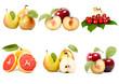 Insieme di frutta mista