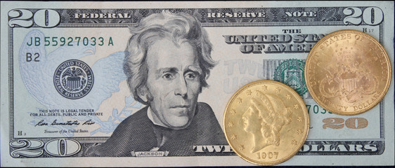 $20 Gold vs Paper