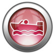 "Red glossy 3D effect button ""Motorboating"""