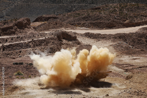 Leinwanddruck Bild esplosione