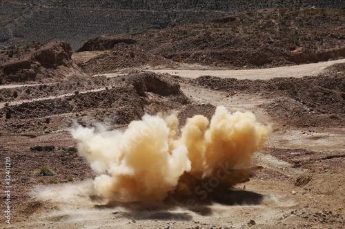 Leinwandbild Motiv esplosione
