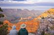 Couple Enjoying Beautiful Grand Canyon Landscape - 32406895