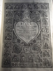 Title Page of The 1599 Geneva Bible