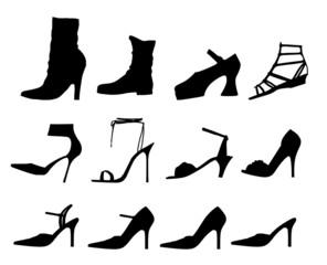SIlhouette: scarpe da donna