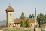 chiesa a Maranclav, Transylvania poster