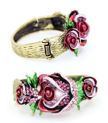Rose Bracelet Front and Back