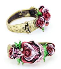 Rose Bracelet Front and Back