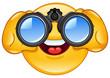 Binoculars emoticon - 32411290