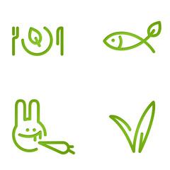 veggie signs