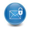 Esfera brillante e-mail seguro