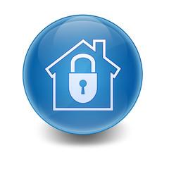 Esfera brillante casa segura