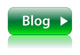 """BLOG"" Web Button (internet website forum community news online)"