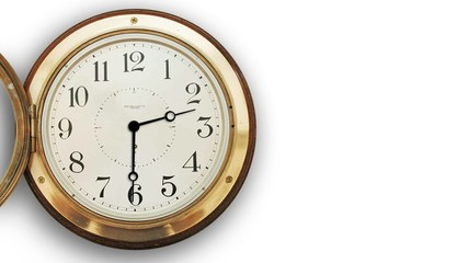 Animated Old Clock
