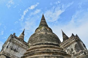 ayuthaya pagoda,thailand