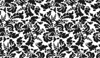 sfondo tappezzeria modulare in bianco e nero
